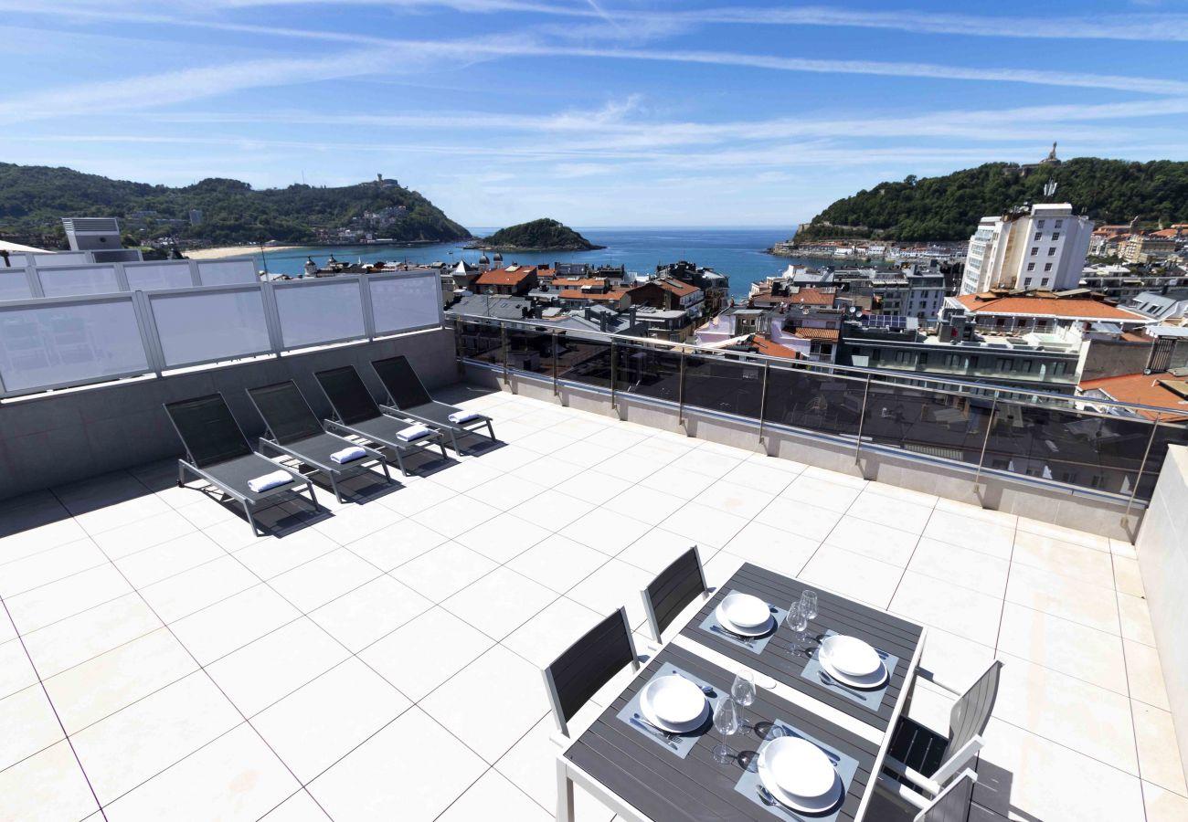 Apartment in San Sebastián - LA CONCHA TERRACE